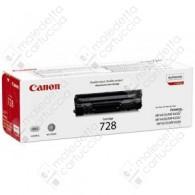 Toner Originale CANON 728 - 3500B002AA - Nero - 2.100 Pagine