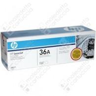 Toner Originale HP 36A - CB436A - Nero - 2.000 Pagine