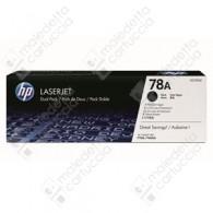 Toner Originale HP 78A - CE278AD - Nero - Dual Pack - 2 x 2.100 Pagine