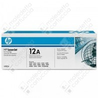 Toner Originale HP 12A - Q2612A - Nero - 2.000 Pagine
