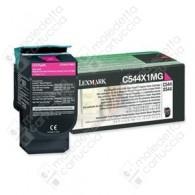Toner Originale LEXMARK C544,X544 - C544X1MG - Magenta - 4.000 Pagine