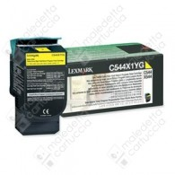 Toner Originale LEXMARK C544,X544 - C544X1YG - Giallo - 4.000 Pagine