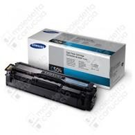Toner Originale SAMSUNG 504S - CLT-C504S - Ciano - 1.800 Pagine