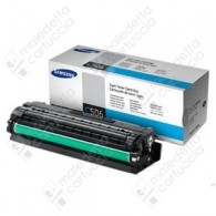 Toner Originale SAMSUNG 506S - CLT-C506S - Ciano - 1.500 Pagine