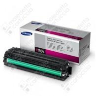 Toner Originale SAMSUNG 504S - CLT-M504S - Magenta - 1.800 Pagine