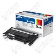 Toner Originale SAMSUNG CLT-P4072B - Nero - Dual Pack - 2 x 1.500 Pagine
