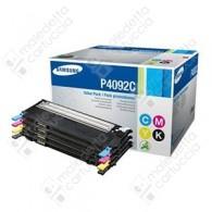 Toner Originale SAMSUNG CLT-P4092C - Nero + Colori - 4 Pack - BK/C/M/Y