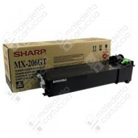 Toner Originale SHARP MX-206GT - Nero - 15.000 Pagine