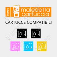 Combo Cartucce Compatibili EPSON T071x - 2x Nero + Colori