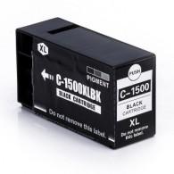 Cartuccia Compatibile CANON PGI-1500BK - 9182B001 - Nero - 35 ml - 1.200 Pagine