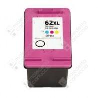 Cartuccia Ricostruita HP 62XL - C2P07AE - Colori - 6 ml