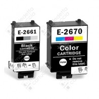 Cartuccia Compatibile EPSON T266 - C13T26614010 - Nero - 8.8 ml - 250 Pagine