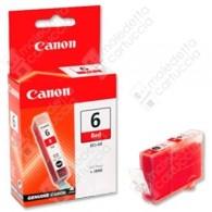 Cartuccia Originale CANON BCI-6R - 8891A002 - Rosso - 13ml - 270 Pagine