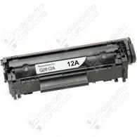 Toner Compatibile HP 12A - Q2612A, Canon-FX10,703 - Nero