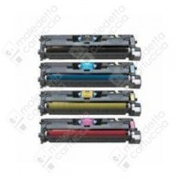 Toner Compatibile HP 124A - Q6000A - Nero