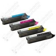 Toner Compatibile OKI 43034807,42127407,42804507,42804515 - Ciano