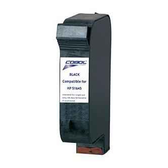 Cartuccia Ricostruita HP 45 Grande - 51645AE - Nero