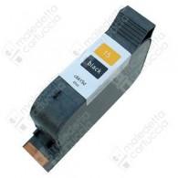 Cartuccia Ricostruita HP 15 Grande - C6615DE - Nero