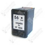 Cartuccia Ricostruita HP 56 - C6656AE - Nero