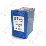 Cartuccia Ricostruita HP 57 - C6657AE - Colori