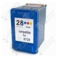 Cartuccia Ricostruita HP 28 - C8728AE - Colori