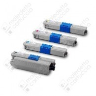 Toner Compatibile OKI 44469705 - Magenta - 2.000 Pagine