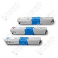Toner Compatibile OKI 44469724 - Ciano - 5.000 Pagine