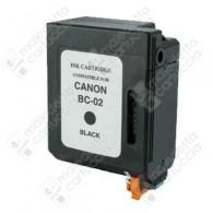 Cartuccia Ricostruita CANON BC-02 - 0881A002 - Nero